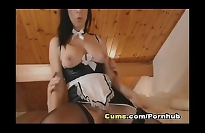 Webcam Hot Take charge Maid Fucks her Master