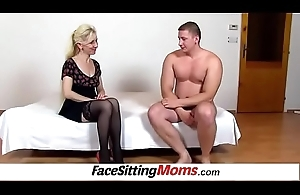 Pussy eating with despondent legs nylons Milf Maya