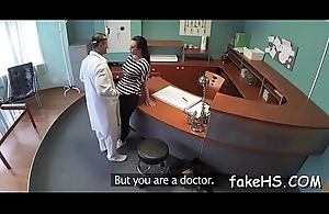 Adorable, yet naughty doctor gets drilled really steadfast