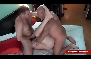 Hairy Dudes Making out