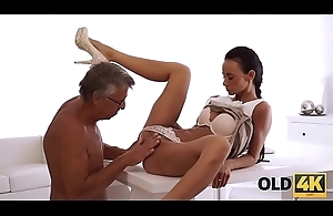 OLD4K. That babe had long dreamed be fitting of a cock be fitting of her boss