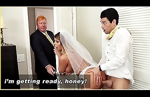 BANGBROS - MILF Bride Brooklyn Pursue Gets Fucked Apart from Step Son!