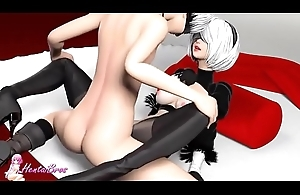 hentai nier automata receives fucked up