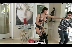 Geek Punished By Dominatrix Neighbor Ariella Ferrera