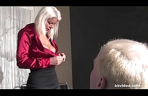 Blonde German mature old bag headman on say no to husband all over mediocre video