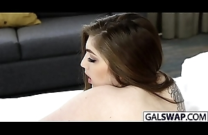 Bad Dads Swap Their Sultry Cuties Gina And Kobi