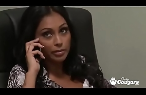 Priya Rai Opens Say no to Legs And Lets A Co-Worker Fill her With Cock