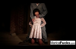 Marica acquires bared and fondled in the basement
