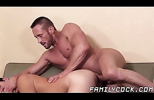 Barebacked stepson petitioning be required of daddys big cock and hot cum