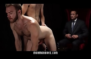 MormonBoyz - Two missionaries fuck as punishment be expeditious for priest daddy
