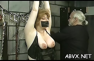 Serious home bondage amateur