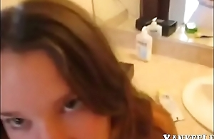 Fucking step-Sister roughly Bathroom - Xer07