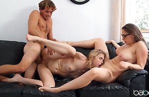 Teacher lures young students earn sensual threesome