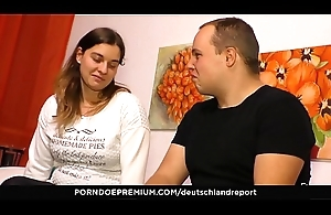 DEUTSCHLAND REPORT - Big ass brunette naughty untrained have sex fest